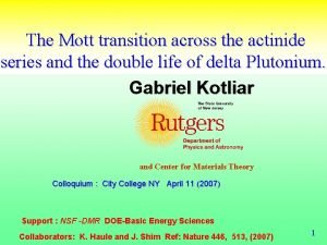 The Mott transition across the actinide series and