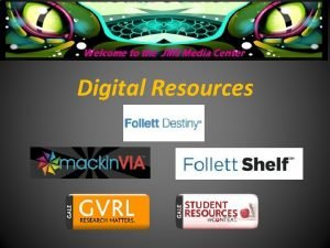 Digital Resources What is a Digital Library Its