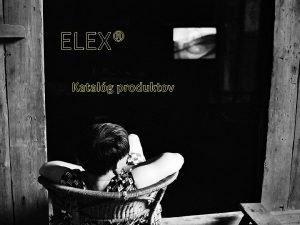 ELEX Katalg produktov Televzory Samsung Priname na Slovensko