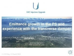 Emittance growth in the PS and experience with