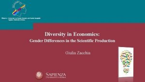 Minerva Laboratory on Gender Diversity and Gender Inequality