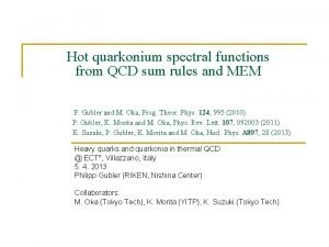 Hot quarkonium spectral functions from QCD sum rules