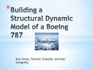 Alex Brose Tanveer Chandok and Alex Dowgwillo Introduction