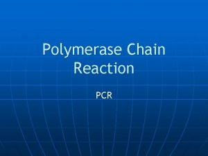 Polymerase Chain Reaction PCR PCR Apparatus PCR Apparatus