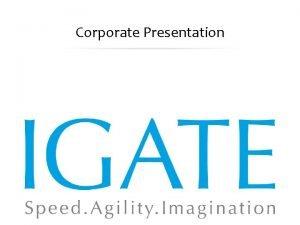 Corporate Presentation September 16 2020 Proprietary and Confidential