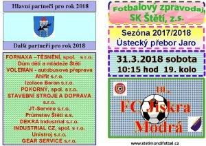 Hlavn partnei pro rok 2018 Dal partnei pro