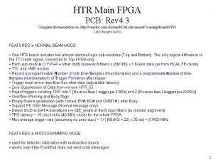 HTR Main FPGA PCB Rev 4 3 Complete