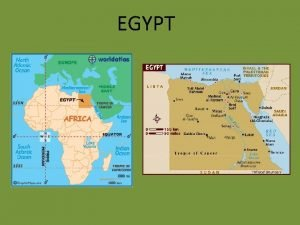 EGYPT Basic Facts Size 386 000 square miles