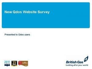 New Qdos Website Survey Presented to Qdos users