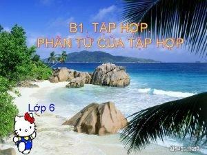 B 1 TP HP PHN T CA TP