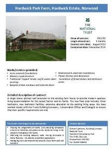 Hardwick Park Farm Hardwick Estate Norwood Value of