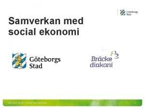 Samverkan med social ekonomi HLLBAR STAD PPEN FR