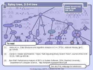 Splay tree 2 3 4 tree Marko Berezovsk