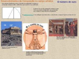 Desenvolvimentos da Composio no campo artstico Uma estrutura
