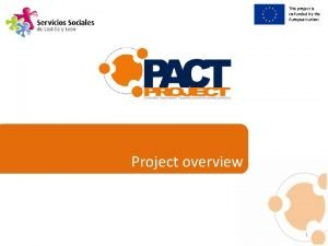 This project is cofunded by the European Union