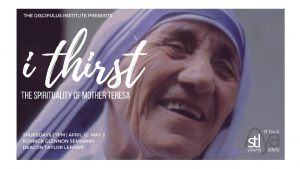 Fr Paul Murray OP Mother Teresa died in