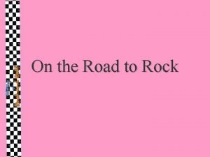 On the Road to Rock Surf Rock Based