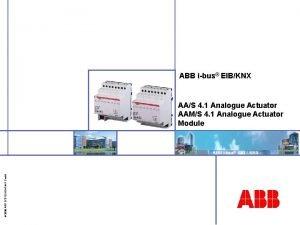 ABB ibus EIBKNX 2006 ABB STOTZKONTAKT Gmb H