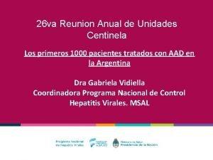 26 va Reunion Anual de Unidades Centinela Los