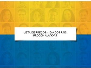 LISTA DE PREOS DIA DOS PAIS PROCON ALAGOAS