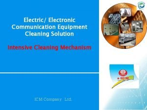 Electric Electronic Communication Equipment Cleaning Solution Intensive Cleaning