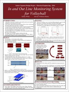 Senior Capstone Design Project Electrical Engineering 2016 In