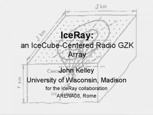 Ice Ray an Ice CubeCentered Radio GZK Array