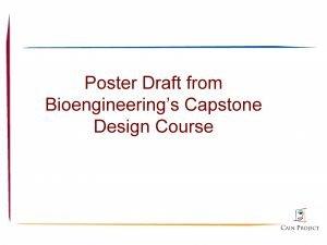 Poster Draft from Bioengineerings Capstone Design Course Spiral