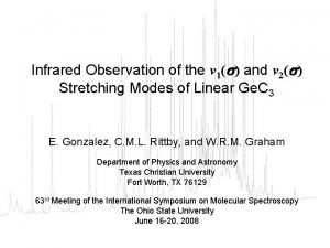Infrared Observation of the 1 and 2 Stretching