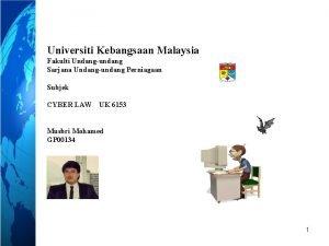 Universiti Kebangsaan Malaysia Fakulti Undangundang Sarjana Undangundang Perniagaan