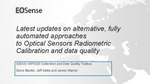 Latest updates on alternative fully automated approaches to