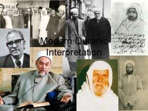 Modern Quranic Interpretation Quranic Interpretation Tafsir Tafsir bilmathur