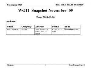 doc IEEE 802 11 091096 r 0 November