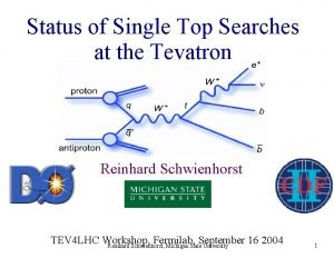 Status of Single Top Searches at the Tevatron