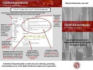 CSUN Scholar Works http scholarworks csun edu for