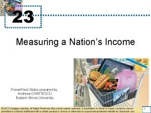 23 Measuring a Nations Income Power Point Slides