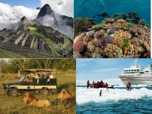 Tourism Take only photographs Leave only footprints What