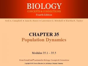 BIOLOGY CONCEPTS CONNECTIONS Fourth Edition Neil A Campbell