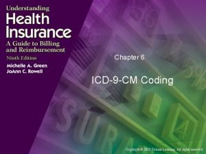 Chapter 6 ICD9 CM Coding Copyright 2008 Delmar