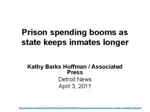 Prison spending booms as state keeps inmates longer