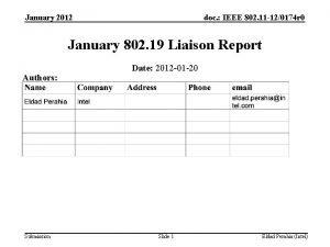January 2012 doc IEEE 802 11 120174 r