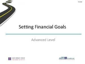 2 1 4 G 1 Setting Financial Goals