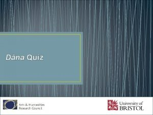 Dna Quiz What does dna mean A Generosity