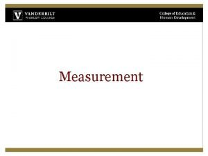Measurement Whats the difference between change and progress