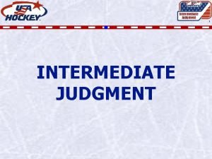 Intermediate Judgment 1 INTERMEDIATE JUDGMENT JUDGMENT Intermediate Judgment
