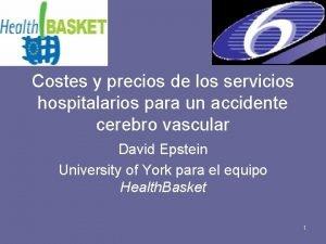 Costes y precios de los servicios hospitalarios para