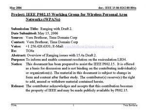 May 2006 doc IEEE 15 06 0242 00