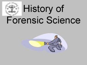 History of Forensic Science Ancient Rome Forensic derived