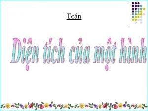 Ton V d 1 Hnh ch nht nm