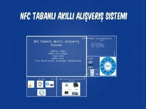 NFCNN KULLANIM ALANLARI Gnmzde NFC Near Field Communication